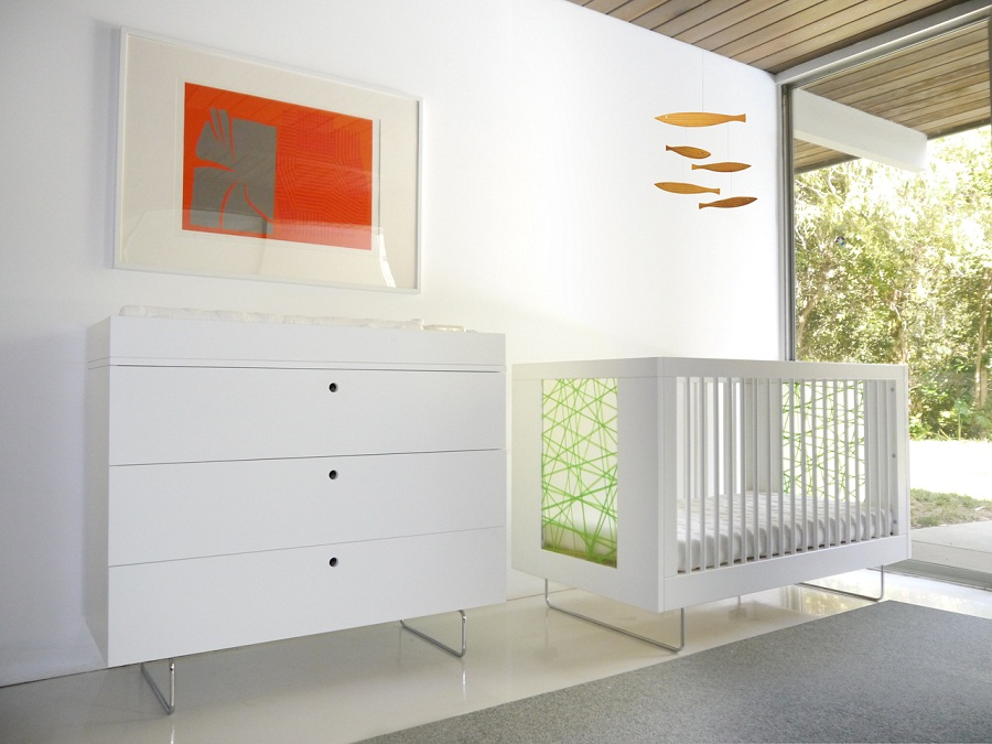 Image of: Changing Table and Dresser Modern
