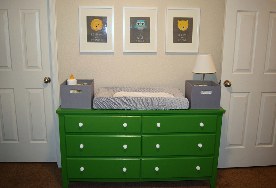 Image of: Changing Table and Dresser for Baby Boy