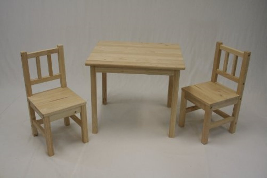 Picture of: Children Folding Table and Chairs Models