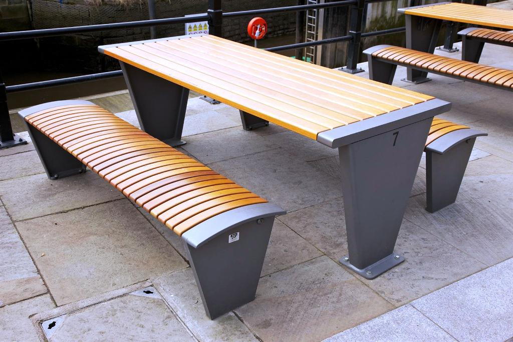 Picture of: Contemporary Commercial Picnic Tables
