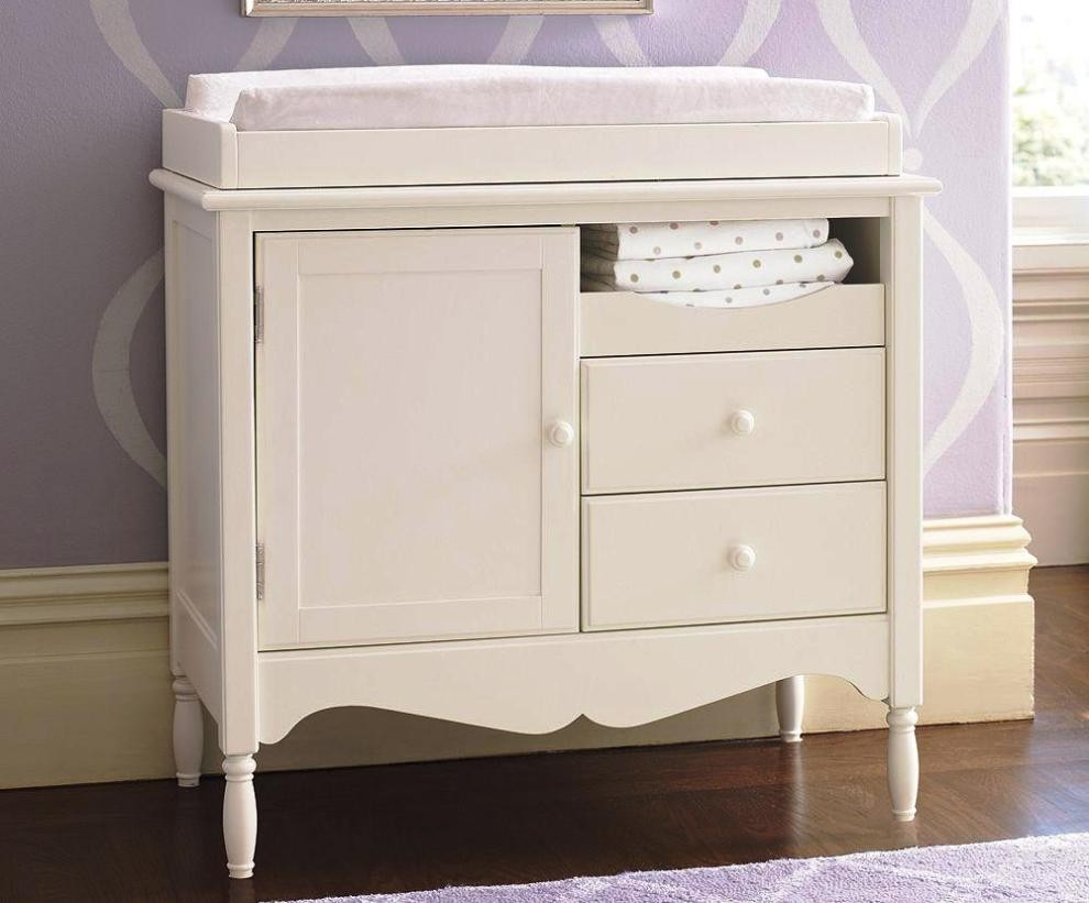Picture of: Diaper Changing Table with Drawer