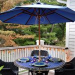 Dining Patio Table With Umbrella Hole