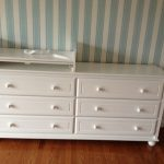 Dresser And Changing Table Combo