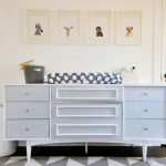 Dresser And Changing Table Set