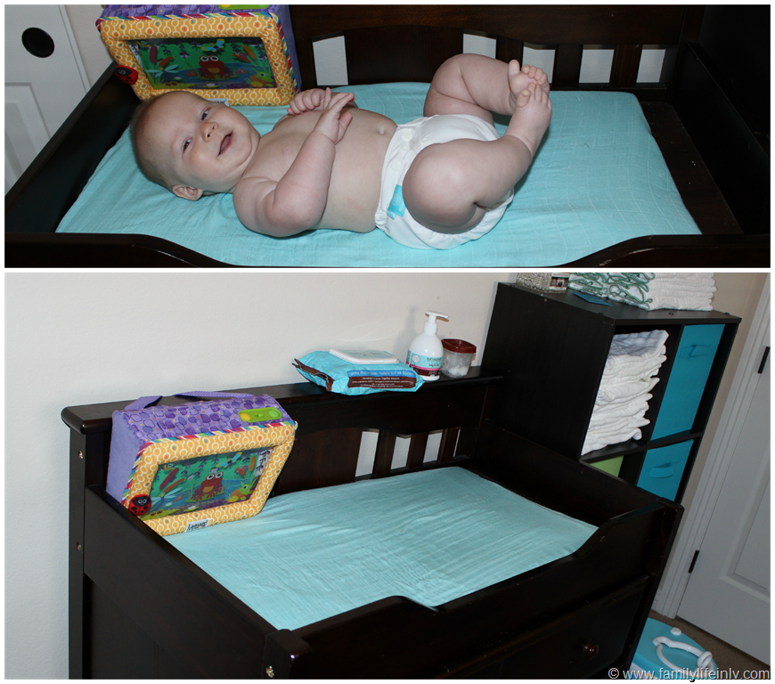 Image of: Elegant Baby Changing Table Pad