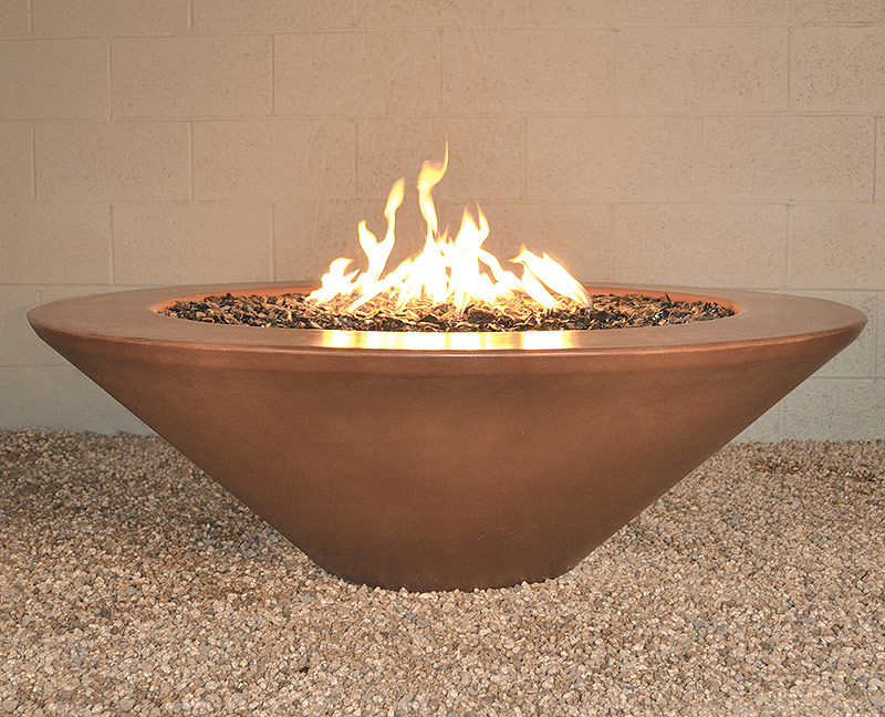 Image of: Firepit Tables Coal Material