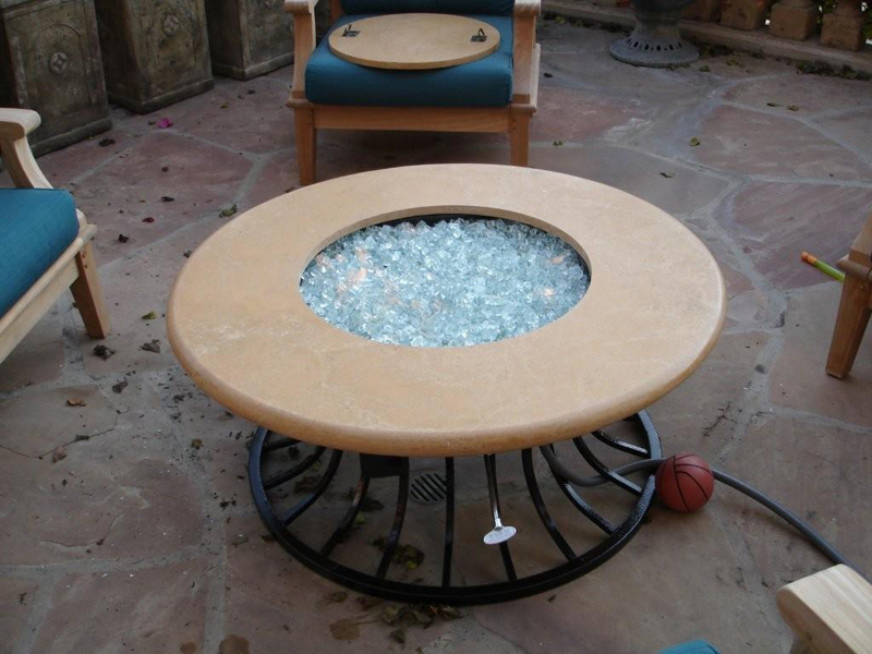 Image of: Firepit Tables Coal