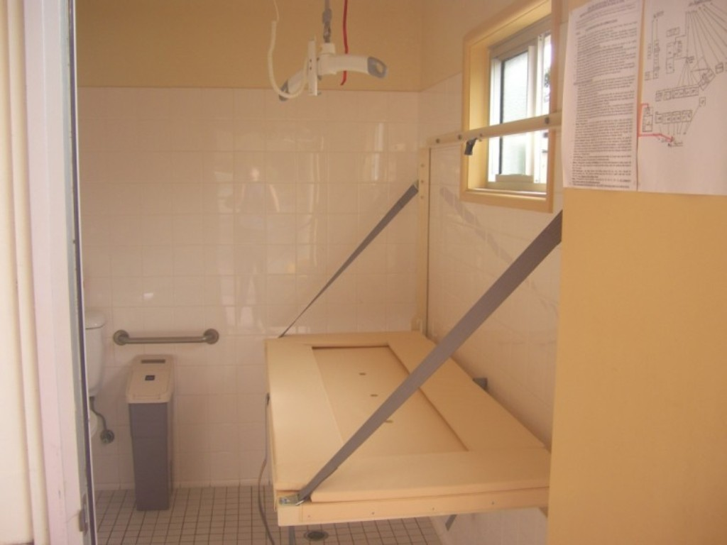 Image of: Fold Down Changing Table Attachment