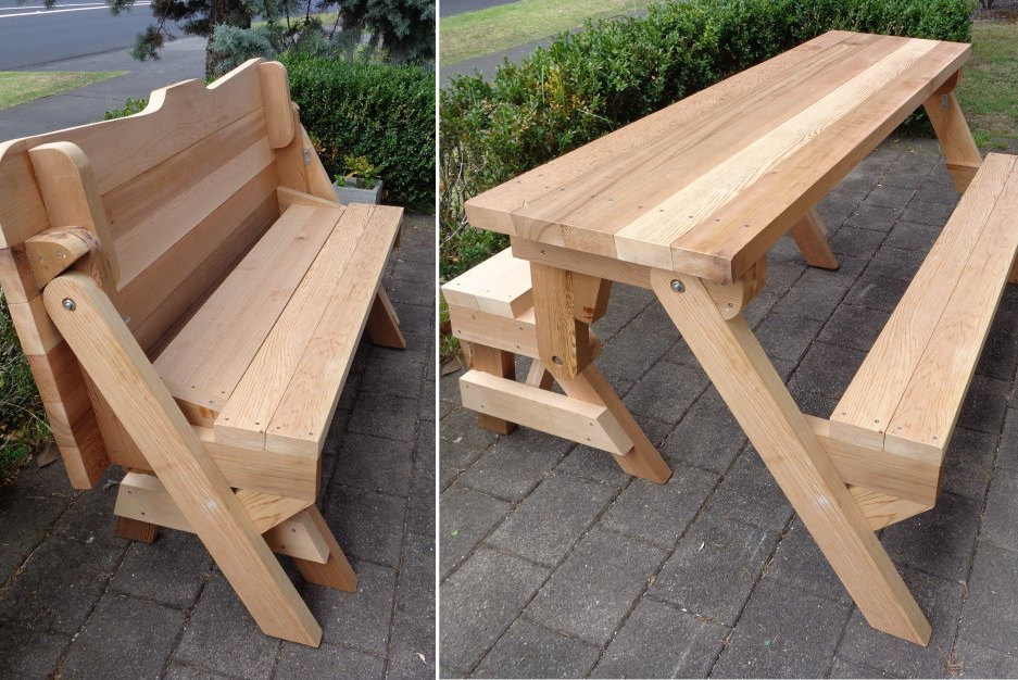 Picture of: Fold up Picnic Table Design