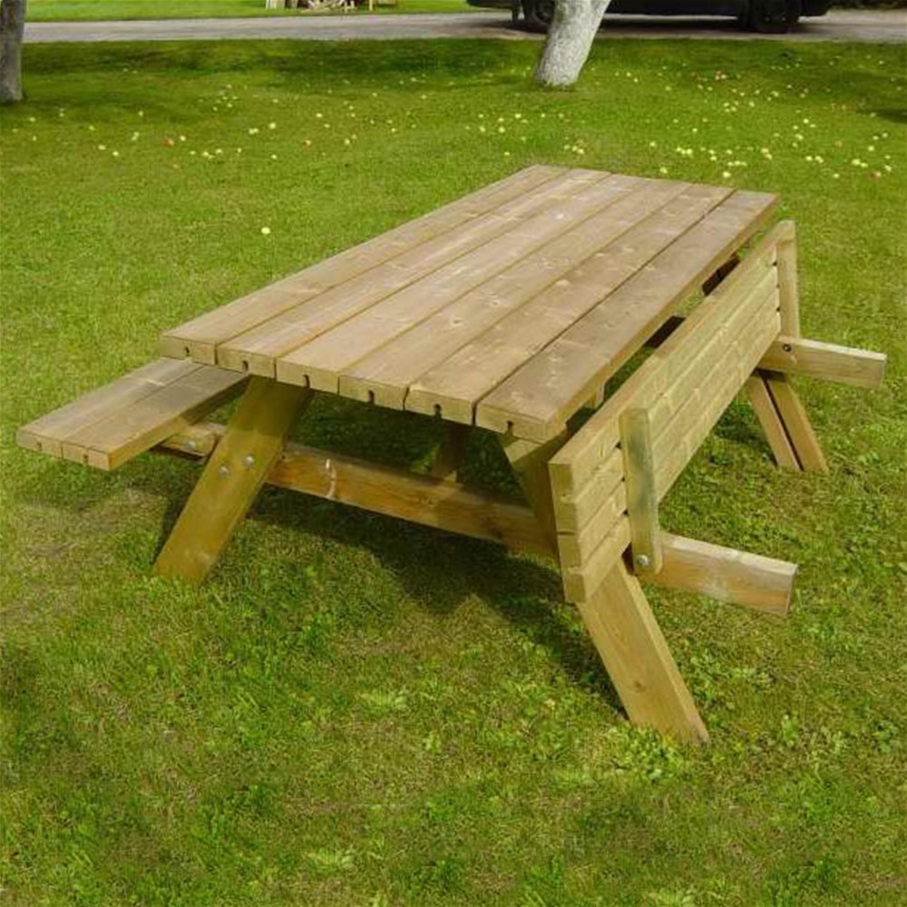 Picture of: Fold up Picnic Table System