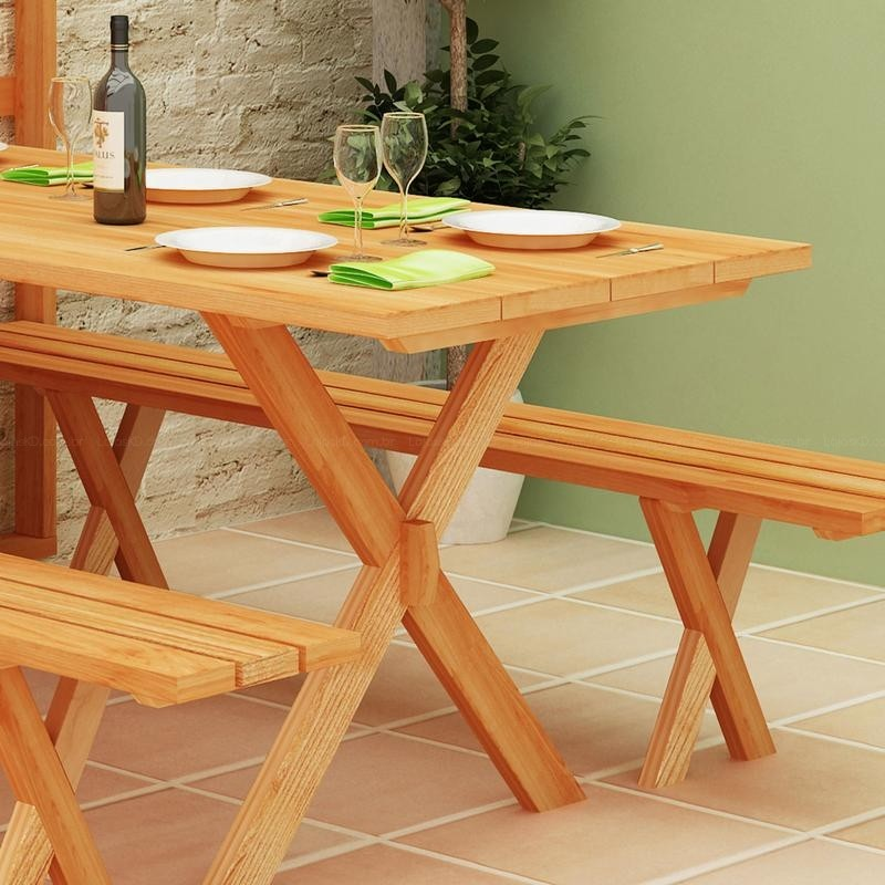 Picture of: Fold up Picnic Table Wood
