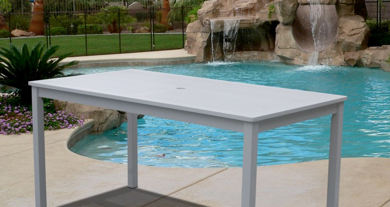 Image of: Folding Outdoor Dining Table Furniture
