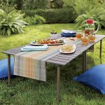 Garden Fold Up Picnic Table