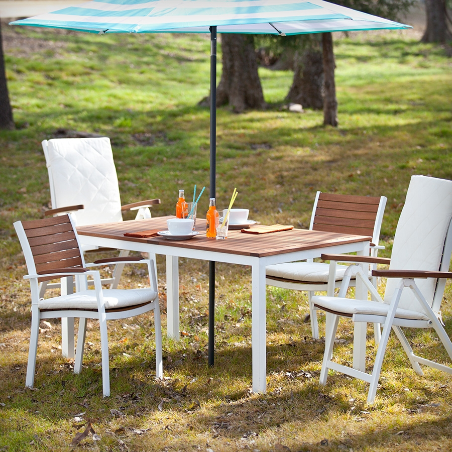 Image of: Garden Folding Outdoor Dining Table