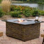 Gas Firepit Table Brick