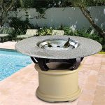 Gas Firepit Table Dining Table