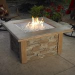 Gas Firepit Table Outdoor