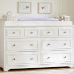 Gray Dresser And Changing Table For Nursery