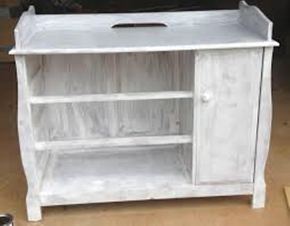 Image of: Gray Dresser changing Table