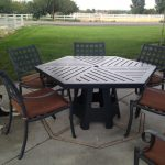 Hexagon Patio Table Ideas