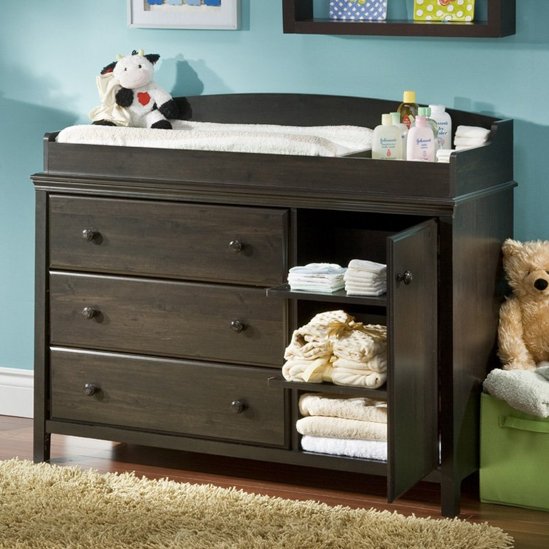 Image of: Master Baby Dresser Changing Table
