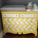 Mirrored Dresser Changing Table