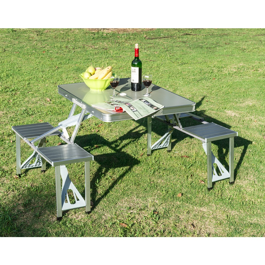 Picture of: Modern Fold up Picnic Table