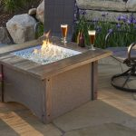 New Outdoor Firepit Table