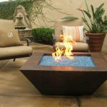 New Outdoor Firepit Table Design