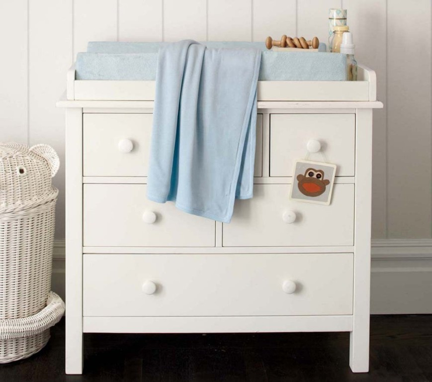 Image of: Nice Changing Table Topper