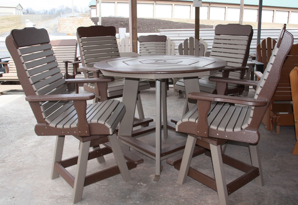Image of: Octagon Patio Table Picture