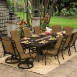 Outdoor Dining Table With Fire Pit Sets