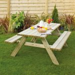 Outdoor Fold Up Picnic Table
