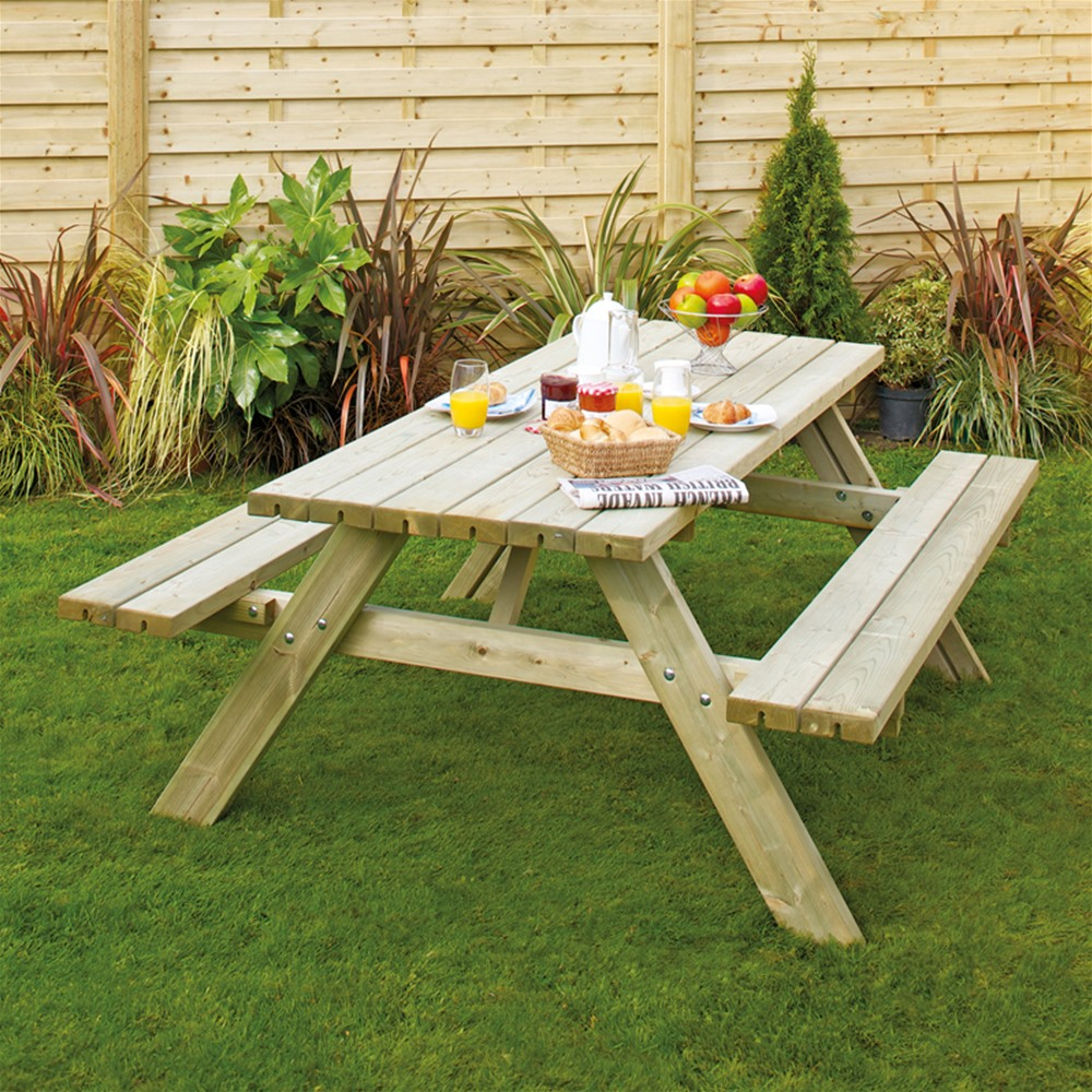 Picture of: Outdoor Fold up Picnic Table