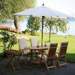 Outdoor Oval Patio Table