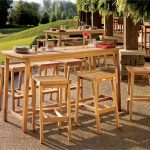 Patio Bar Table And Chairs