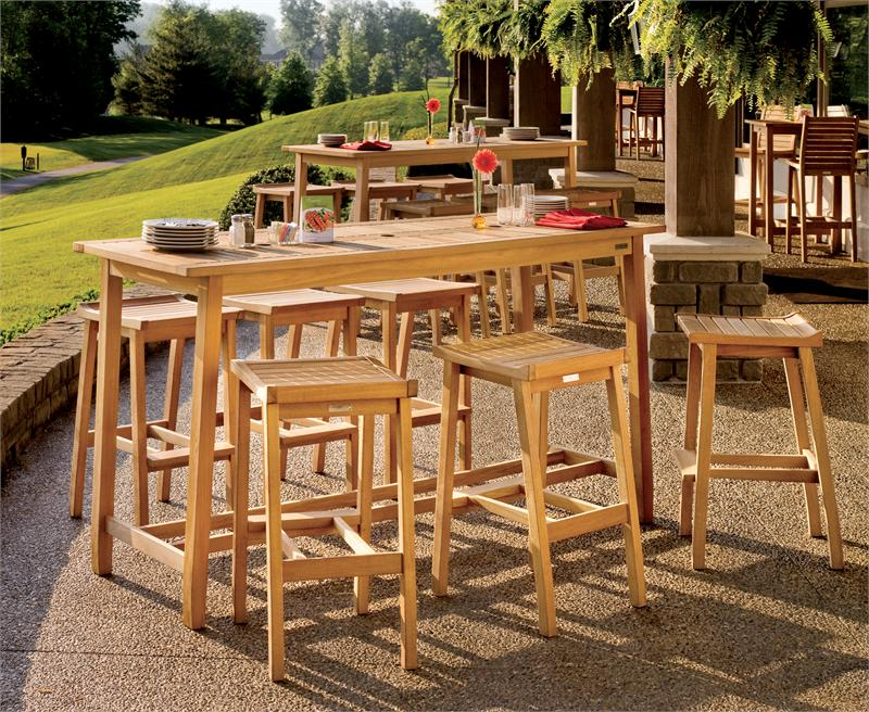 Picture of: Patio Bar Table and Chairs
