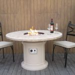 Patio Fire Table Mini Bar