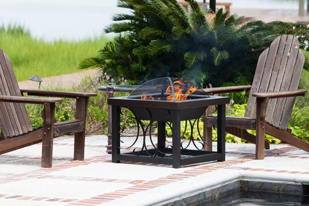 Picture of: Patio Fire Table Net Bowl