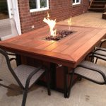 Patio Fire Table Wood