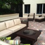 Patio Furniture With Fire Pit Tables Design