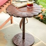 Patio Side Table Shaped