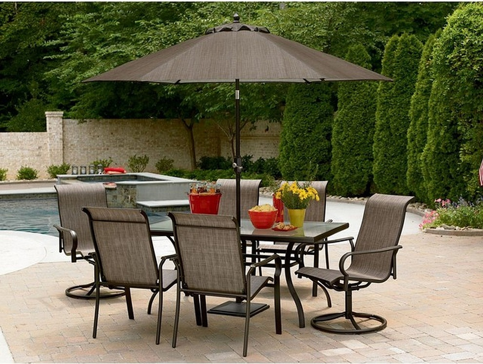 Picture of: Patio Table Umbrella Beautiful