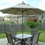 Patio Table With Umbrella Hole Covers