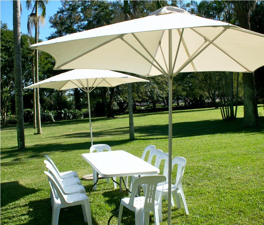 Picture of: Patio Table with Umbrella Hole Ideas