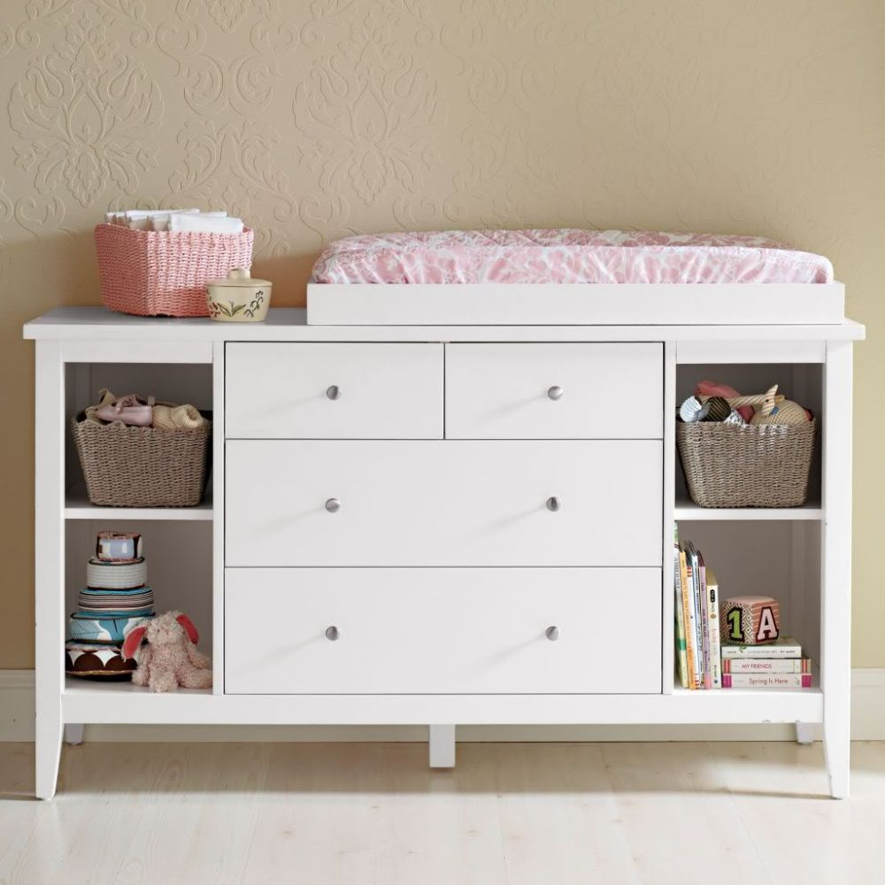 Image of: Popular Changing Table Topper