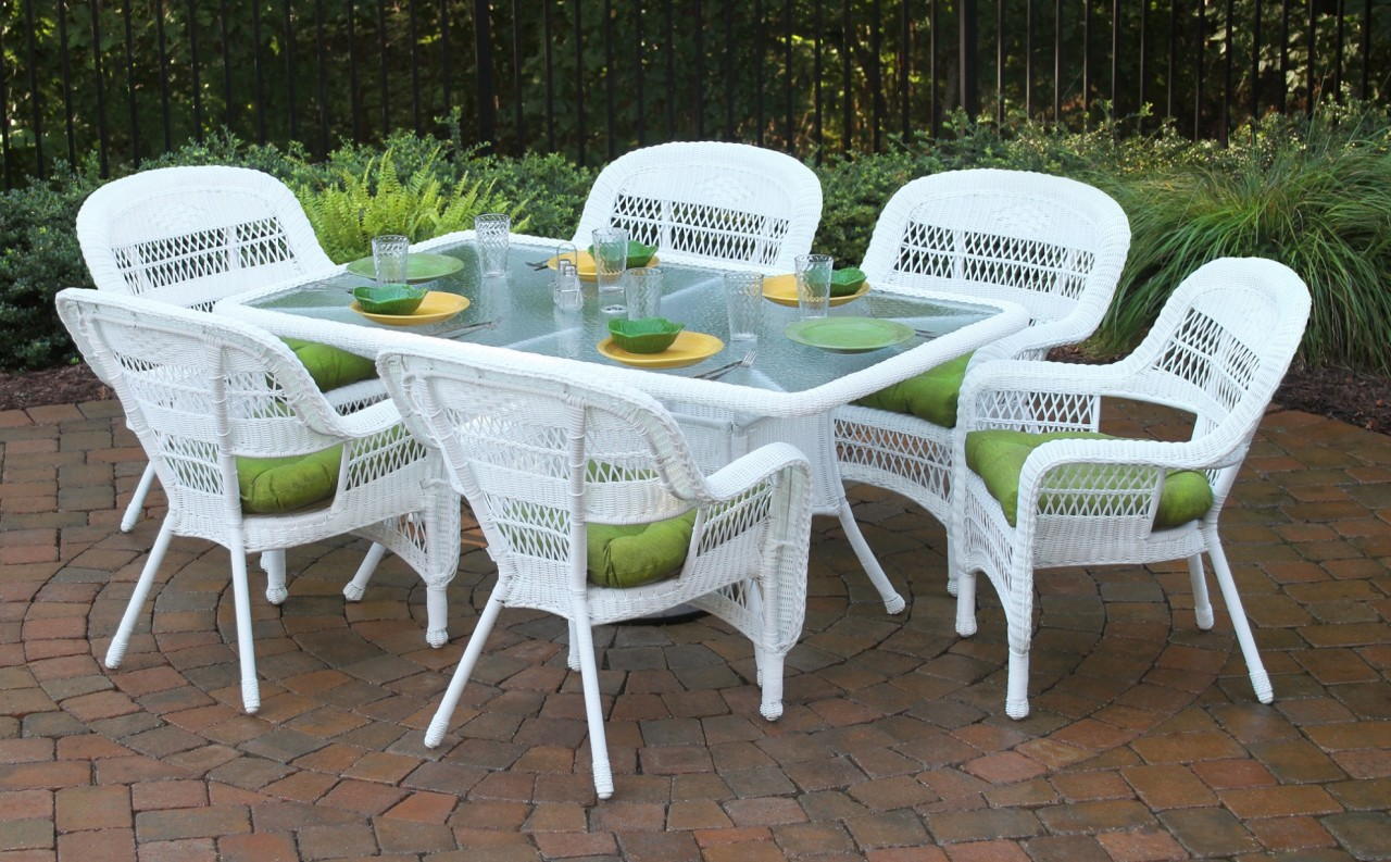 Image of: Popular Resin Patio Table