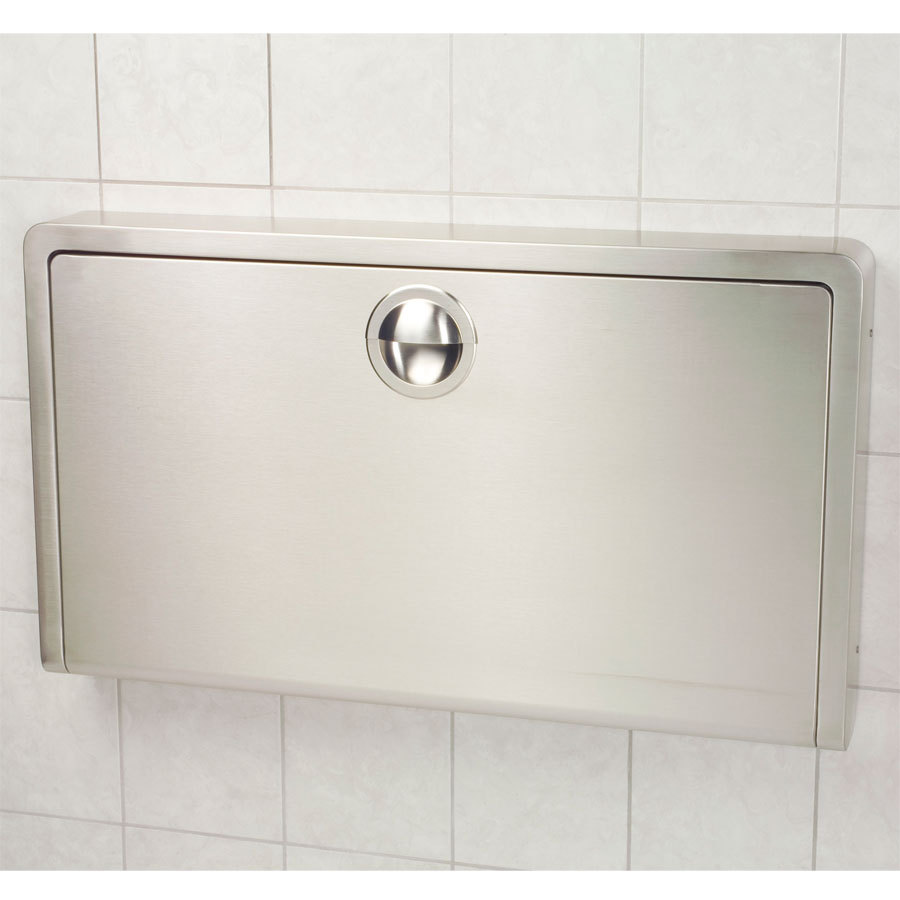 Image of: Popular Wall Mounted Baby Changing Table