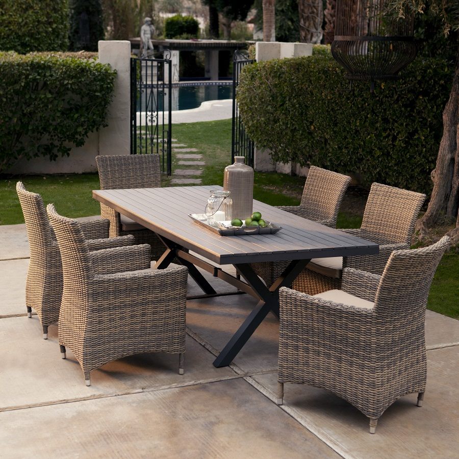 Picture of: Rectangle Patio Dining Table Sets