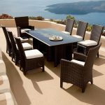 Rectangle Patio Dining Table Wicker